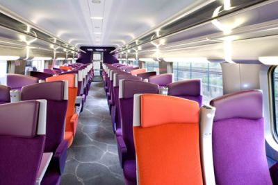 A l 39 int rieur du nouveau tgv est go est c est official for Interieur paris premiere