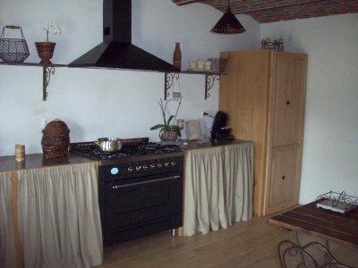Cr ation d 39 une nouvelle cuisine l 39 ancienne avec un plan for Cuisine a l ancienne