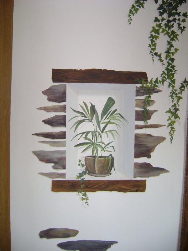 peinture trompe l 39 oeil blog de latelier vero laryennat. Black Bedroom Furniture Sets. Home Design Ideas