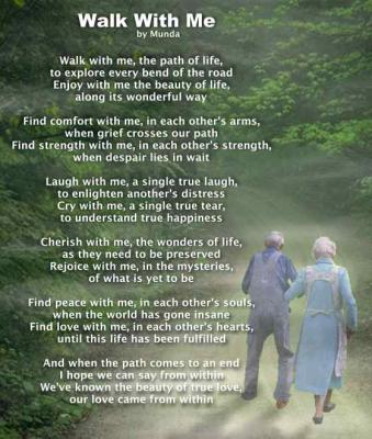 Walk In Your Shoes Poem