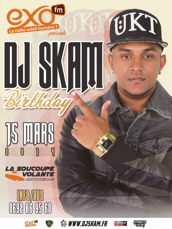 DJ SKAM BIRTHDAY