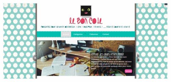 Nouveau projet:   Le Bon C�t�.