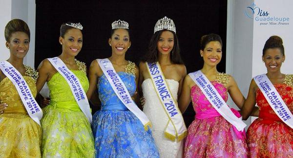 Miss Martinique 2014 / Miss Guadeloupe 2014 / Miss Saint Martin 2014