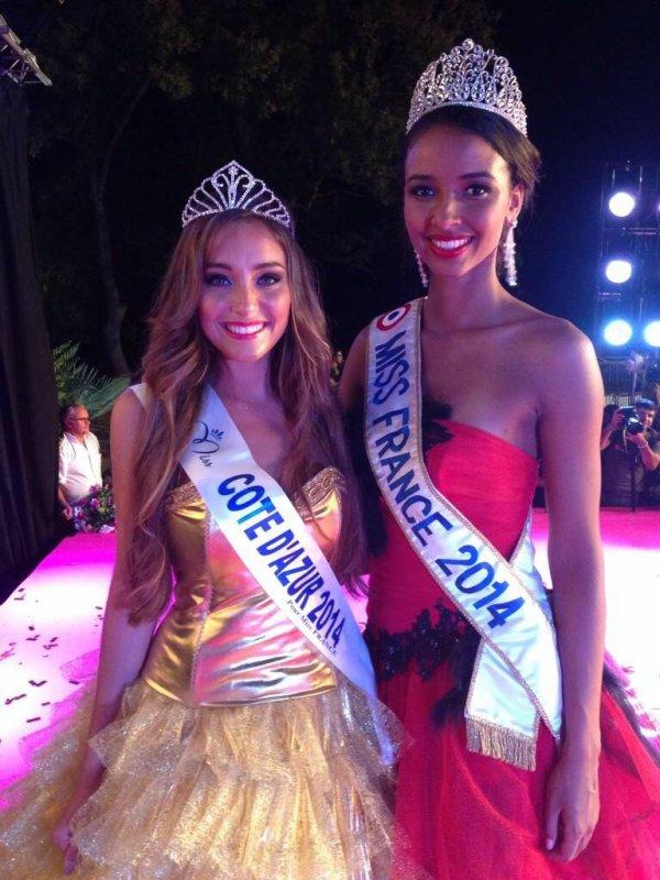 Miss Languedoc 2014 et Miss C�te D'Azur 2014