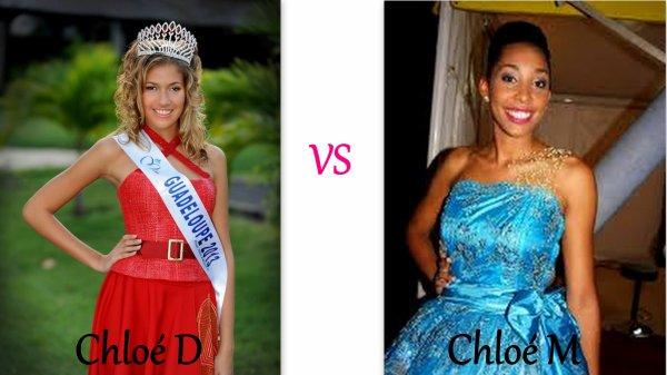 VS Miss Guadeloupe et Miss Languedoc 2012, 2013 et 2014 !