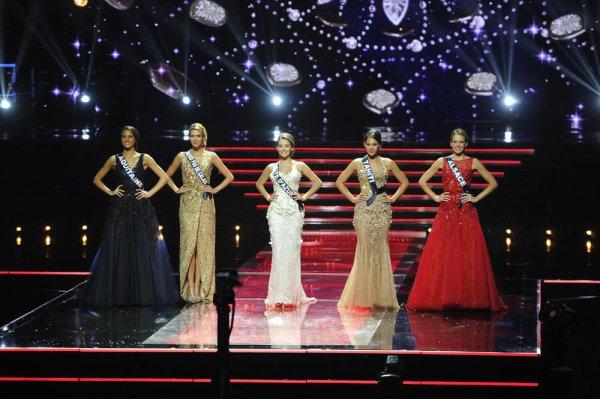 Le Top 5 de Miss France 2015
