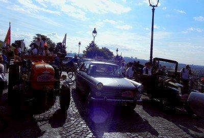 Travers�e de Paris estivale