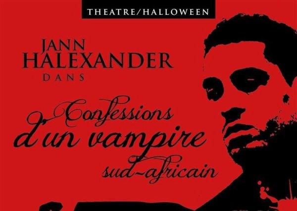 Info Th��tre 'Confessions d'un Vampire Sud-Africain' - Tourn�e Halloween 30/31 octobre/1er novembre en France