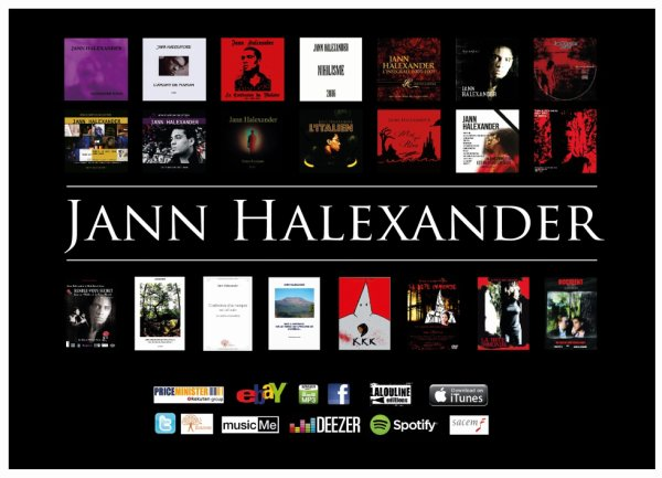 d�couvrir l'oeuvre de Jann Halexander