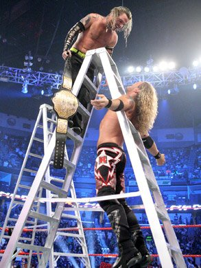 World Heavyweight Championship   Ladder Match   Jeff Hardy bat Edge  c    World Heavyweight Championship Jeff Hardy