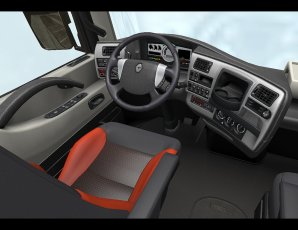 Renault magnum int rieur termin truck game for Interieur camion renault t