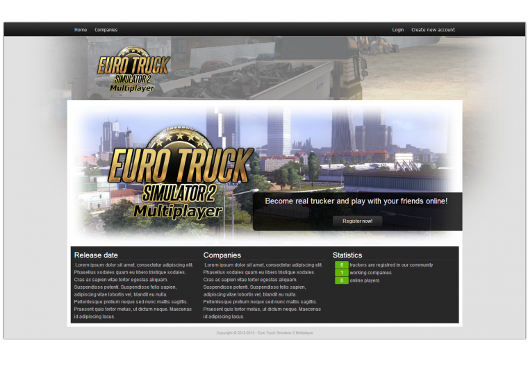 ETS2 Multijoueur  #Info Update May 2013