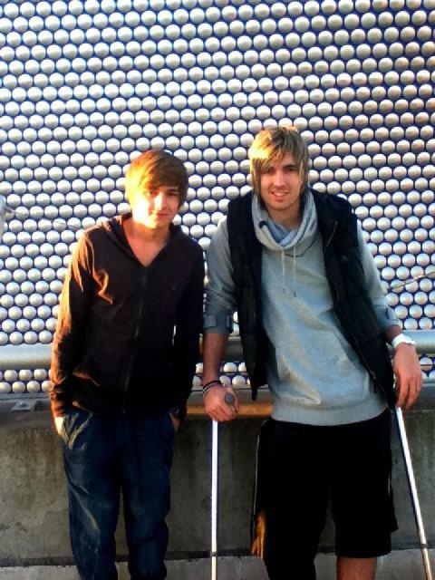 Liam et Andy l'incendie ...