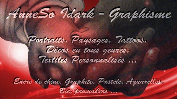 INFOS IMPORTANTE --> Nouvelle adresse pour suivre l'actu IDARK  ---> http://asoidark-dessin-et-portrait.com/