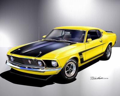 ford mustang design reproductions. Black Bedroom Furniture Sets. Home Design Ideas