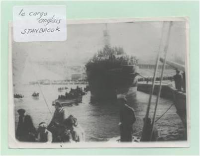 Le Stanbrook : l'embarquement