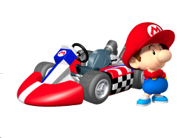 Mario kart wii personnages disponibles b b mario - Mario kart wii personnages et vehicules ...