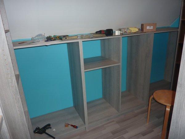Fabrication d un dressing maison avec l aide de laurent - Fabrication d un dressing ...