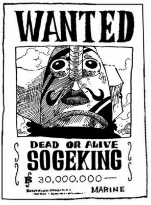 Wanted sogeking pipo one piece - Coloriage one piece wanted ...