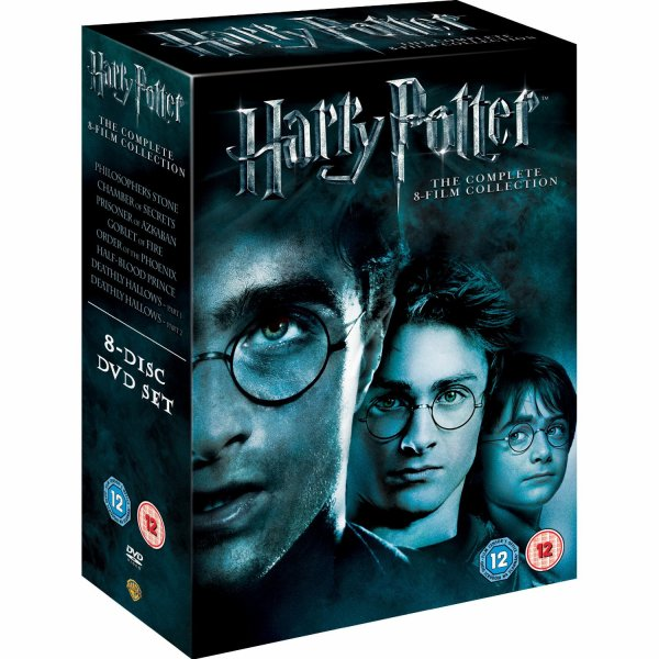 Coffret harry potter the complete 8 film collection for Sejour complet harry potter