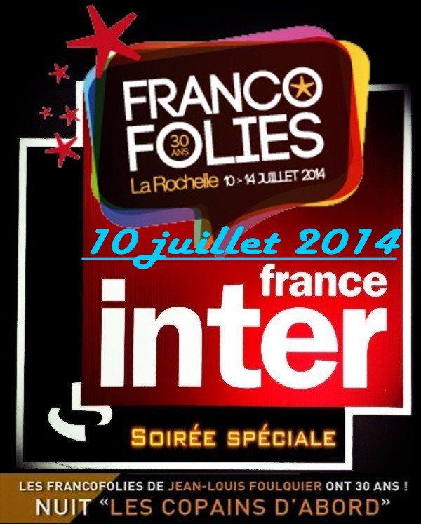 Lavilliers et  Higelin, Jeudi 10 juillet 2014 sur France inter