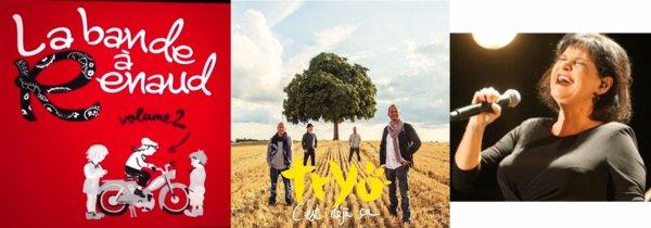 Lavilliers - Tryo - Maurane - Renaud - Albums: Octobre, Novembre 2014