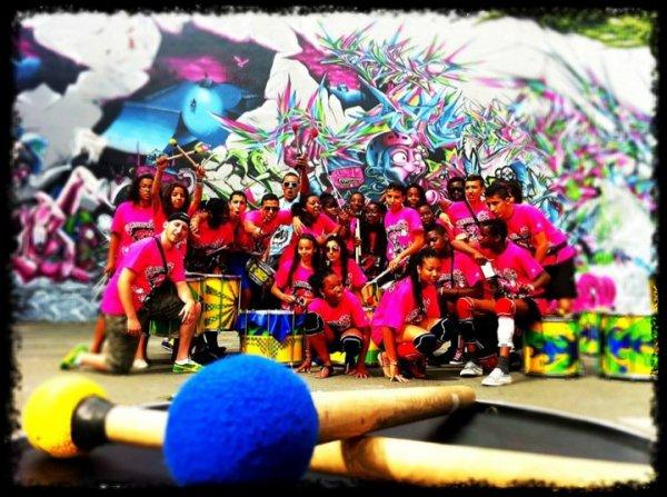 Batuc'ados Tourn�e juillet 2011 au Festival de Saintes