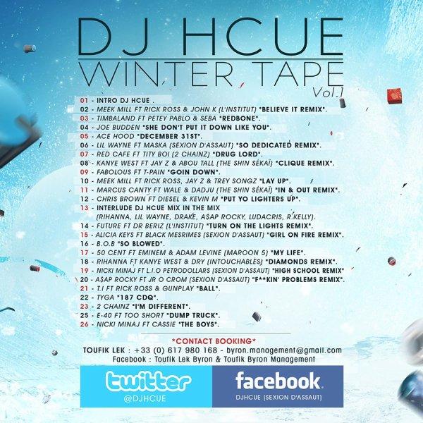 dj hcue winter tape