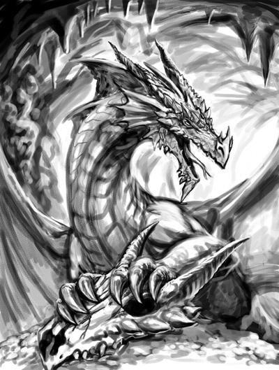 Dessin d 39 un dragon blog de kalidor19 - Dessin d un dragon ...