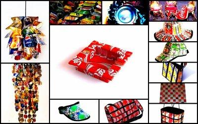 objets faits a partir de canettes at 39 art machiine x3. Black Bedroom Furniture Sets. Home Design Ideas