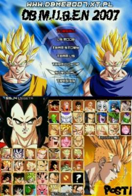 Game Dragon Ball Z Mugen Edition 2011 Mf