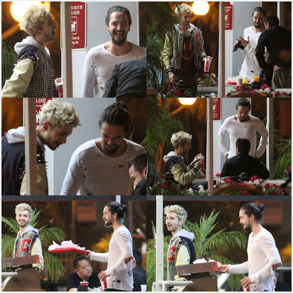 "8 501 / 14.06.2014 - Bill & Tom au ""Astro Burger"" � West Hollywood (USA)."