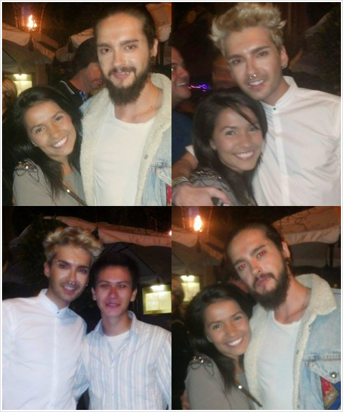8 503 / 09.06.2014 - Bill & Tom avec des fans, West Hollywood (USA).