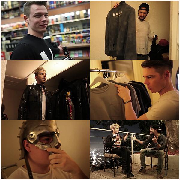 8 539 / Tokio Hotel TV 2014 [Episode 01] 'Les gars sont de retour en ville'  - SCREENSHOTS