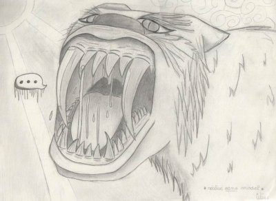 Tigre dents de sabre dessins de manga s et autres - Dessin de sabre ...