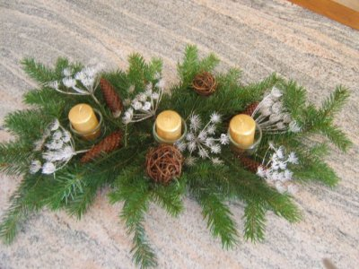 Articles de lafineaiguille88 tagg s noel le point - Centre de table noel a faire ...