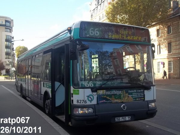 ligne 66 bus irisbus agora line vf anciens bus des lignes 174 et 540 blog de ratp067. Black Bedroom Furniture Sets. Home Design Ideas