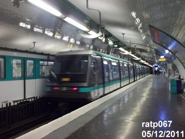 Ligne m tro 4 le mp89 cc n 31 porte de clignancourt blog de ratp067 - Metro porte de clignancourt ...
