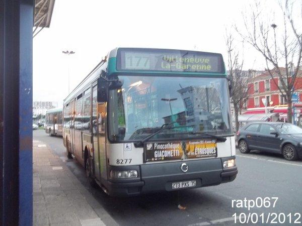 habillage ligne 177 bus irisbus agora line vf n 8277 de la ligne 66 blog de ratp067. Black Bedroom Furniture Sets. Home Design Ideas