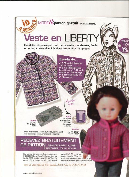 mtx septembre 2011 le patron gratuit mes poup es leur magazine leur garde robe et. Black Bedroom Furniture Sets. Home Design Ideas