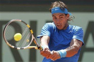 Tennis roland garros portrait de rafael nadal le vainqueur messieurs de - Joueur de tennis espagnol ...