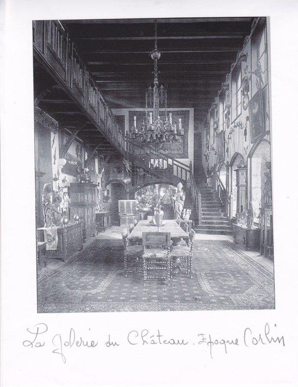 liverdun int rieur du ch teau poque 1925 l 39 cho de la cit des madeleines. Black Bedroom Furniture Sets. Home Design Ideas