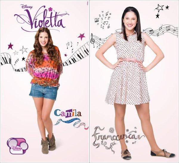 Violetta pr sentation des personnage - Violetta saison 2 personnage ...