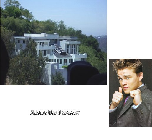 Leonardo dicaprio los angeles californie blog de maisons des stars - Los angeles maison de star ...