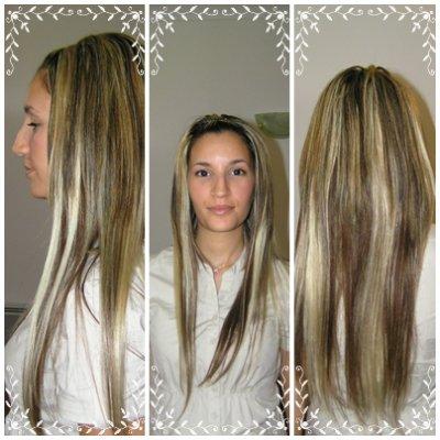 Cheveux Chatains Meches Blondes Châtain Clair Méché Blond