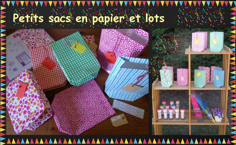 Anniversaire theme fete foraine pour les enfants - Fabriquer sachet bonbon anniversaire ...