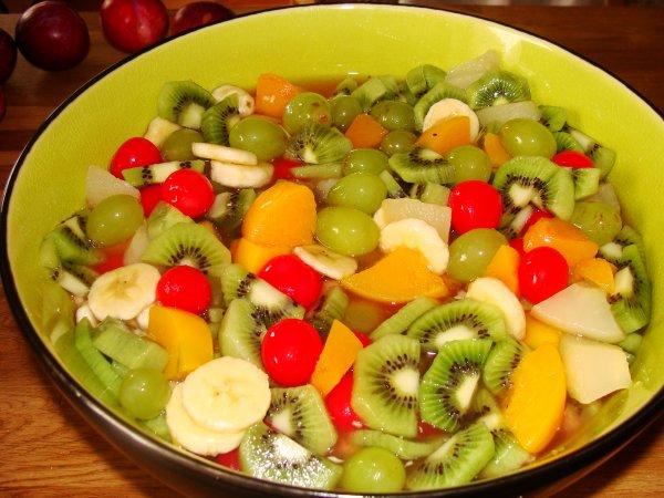 salade de fruit printani re auxdelicesdespapilles. Black Bedroom Furniture Sets. Home Design Ideas