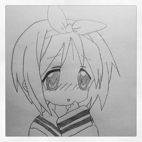 Manga timide shoot photo - Dessin de fille manga ...