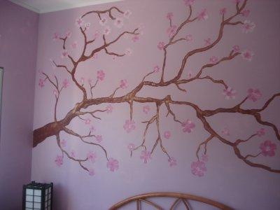 Dessin sur mur blog de la deco de patricia for Dessiner sur un mur peinture