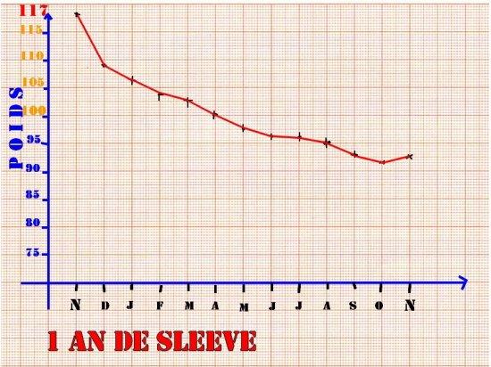 ma courbe poids un an apres sleeve ma sleeve du 26 nov 2009. Black Bedroom Furniture Sets. Home Design Ideas